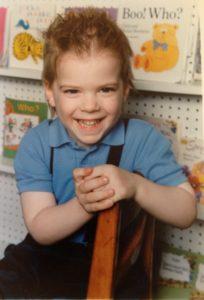 Jason age seven